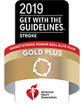 2019 Get with Guidelines Stroke, Gold Plus from the American Heart Association