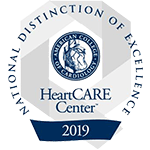 HeartCARE Center, National Distinction of Excellence 2019